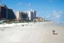 The Beach At Daytona Beach, Florida