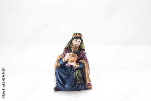 Photo Biblical figure King Caspar