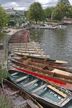 Rowing Boats And Punts, Stratford Upon Avon, Warwickshire