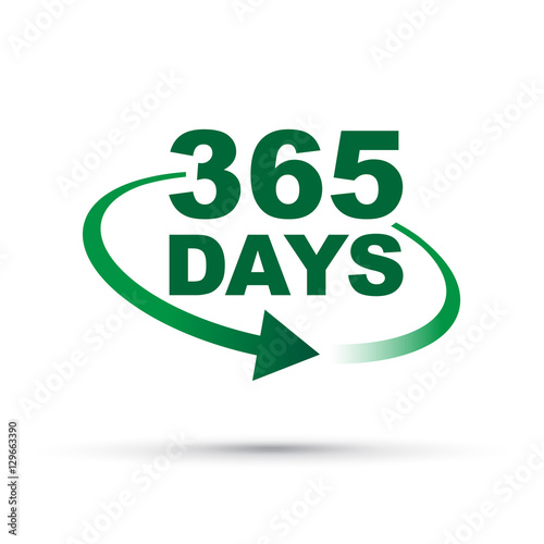 365 days a year around the clock Canvas-taulu