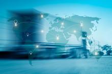 World International Map Connec...