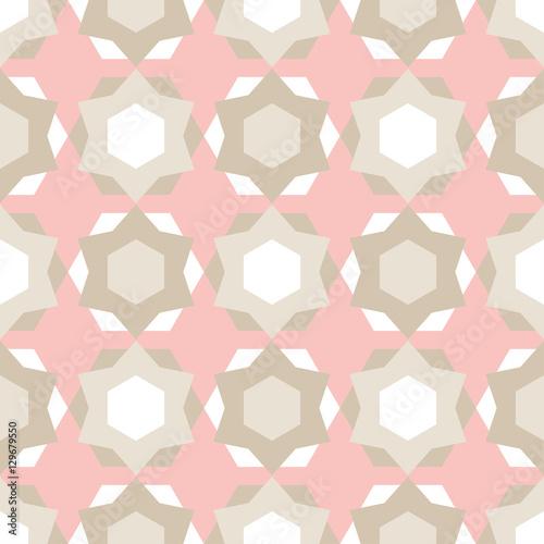 Tapeta ścienna na wymiar Ornamentalny wzór geometryczny