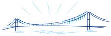 Bosphorus Bridge Istanbul Vector