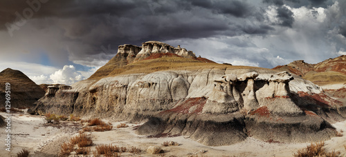 Bisti Badlands Canvas Print