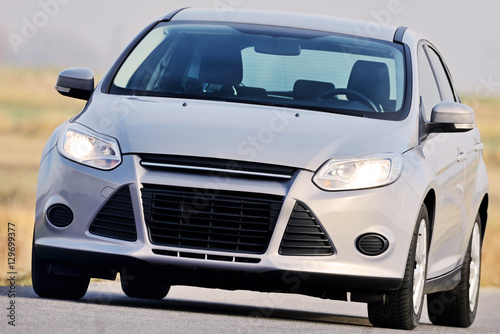 Photo Gray car.