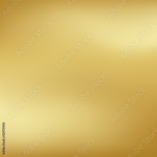 Vector gold blurred gradient style background. Abstract smooth colorful illustration, social media wallpaper. Wall mural