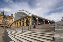 Lime Street Station,Liverpool England UK