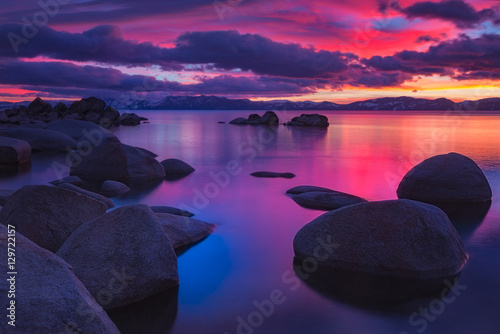 Cadres-photo bureau Prune Northe Lake Tahoe Sunset