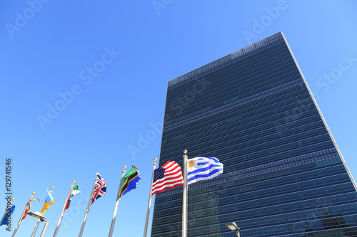 Fotografie, Obraz  国際連合