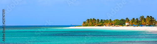 Photo sur Toile Caraibes panorama of anguilla island