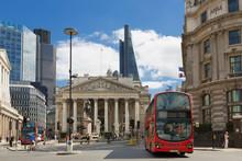 London, Bank Of England And Ro...
