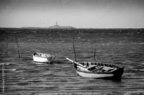 Fotografering  Fishing boat from Mauritius