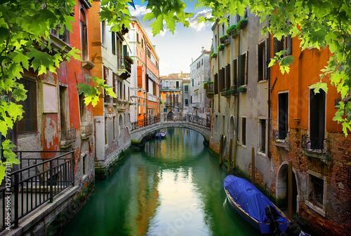 Aluminium Prints Venice Calm venetian street