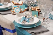 Beautiful Table Setting For Ha...