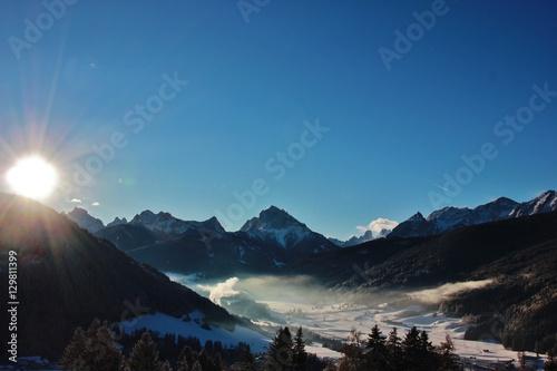 Photo  Raggi sulle Dolomiti
