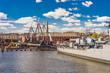 Ships at Charlestown peninsula in Boston