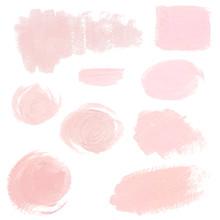 Light Pink Pastel Acrylic Brus...