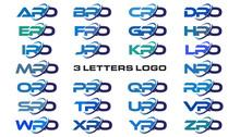 3 Letters Modern Generic Swoos...