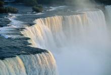 The American Falls At The Niagara Falls, New York State, USA