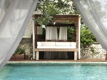 Pool At The Villa At Ayana Resort And Spa, Formerly The Ritz Carlton Bali Resort And Spa, In Bali, Indonesia