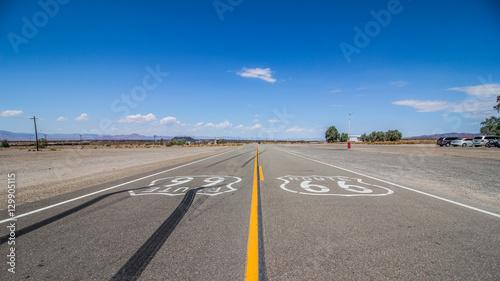 In de dag Route 66 Route 66