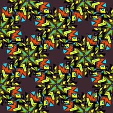 Geometric Seamless Pattern. Ye...