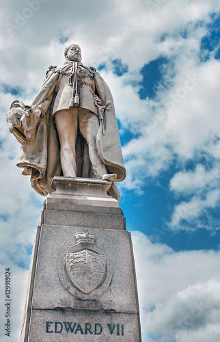 Valokuva  Denkmal von Edward Vll vor City Hal in Kapstadt