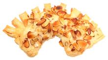 Golden Almond Honey Bear Claw Pastry