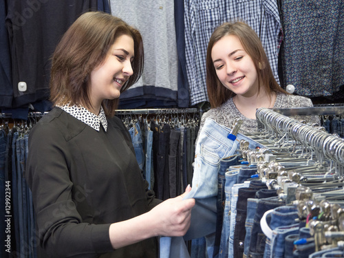 Fotografie, Obraz  магазин одежды