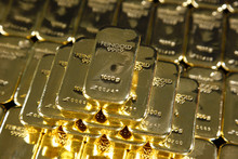 Gold Ingots, Frankfurt, Germany