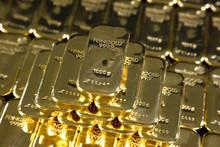 Gold Ingots, Frankfurt, Germany