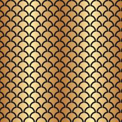 Fototapeta Art Deco Abstract Seamless Art Deco Vector Pattern