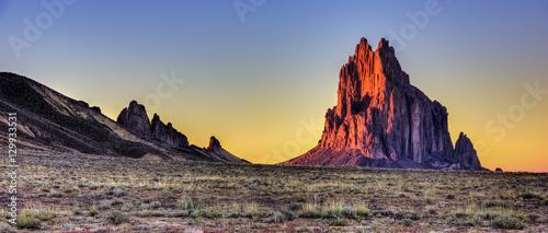 Foto op Plexiglas Cappuccino Shiprock New Mexico