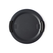 Camera Lens Cap Isolated Over White Background