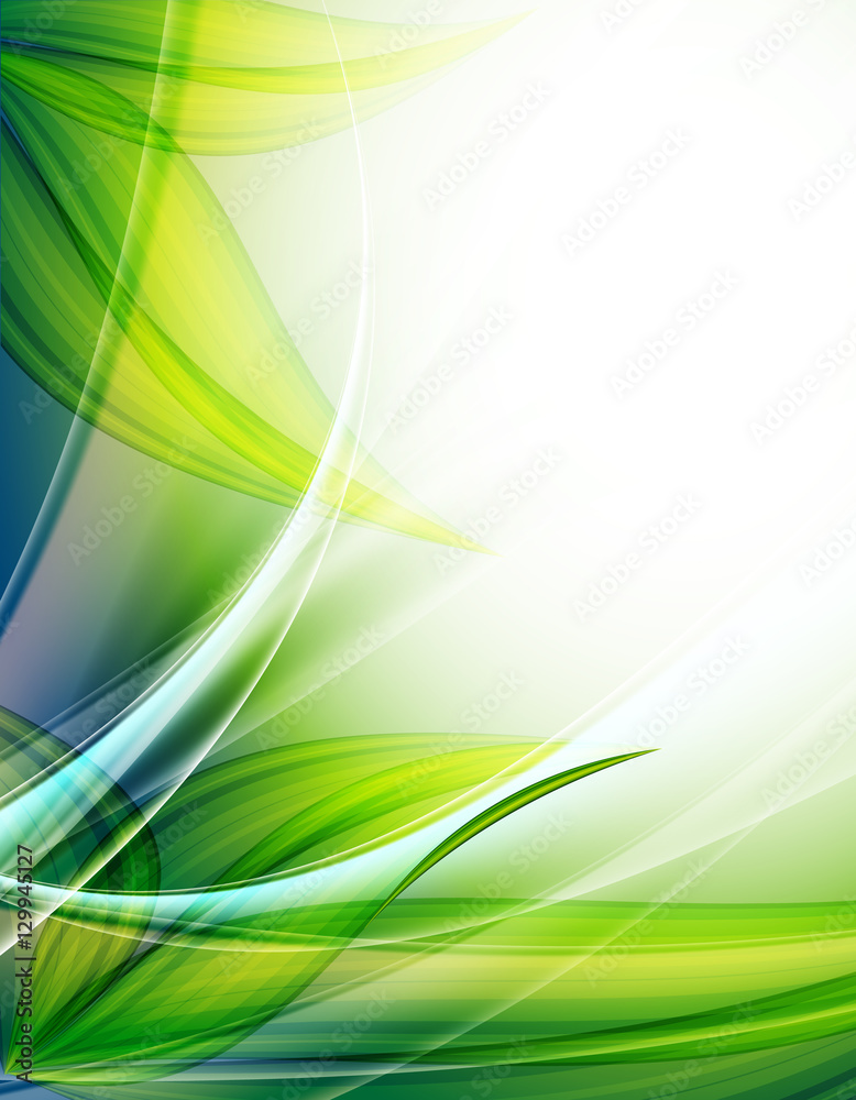 Vector floral background. Spring backdrop for the design of flowers. Eps10