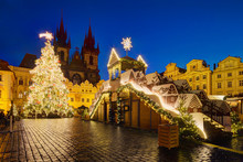 Christmas Old Town Square In P...