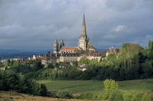 The Cathedral Of St. Lazare At Autun In Burgundy, France