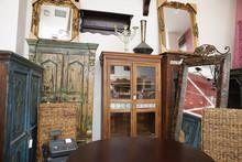Interior Of Used Furniture Store