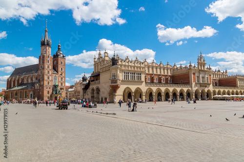 Market square in Krakow