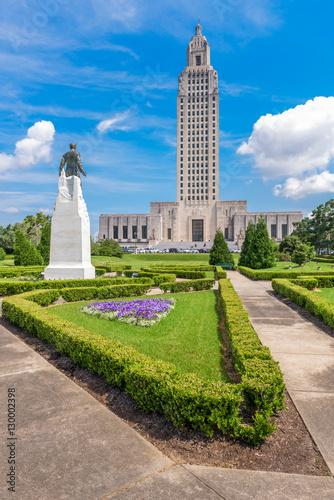 Louisiana State Capitol in Baton Rouge, Louisiana, USA. Wallpaper Mural