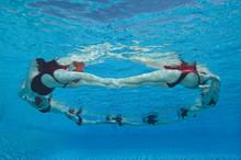 Underwater View Of Synchronize...