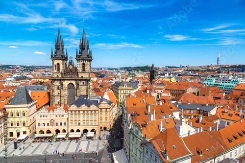 Staande foto Praag Old Town square in Prague