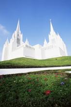 Mormon Temple, La Jolla, San Diego, California