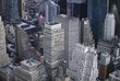 Aerial view of Manhattan skyscrapers, New York City, New York, USA, North America