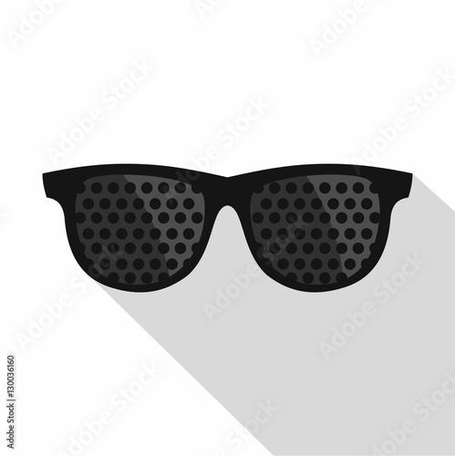 Bifocals icon. Flat illustration of bifocals vector icon for web Wallpaper Mural