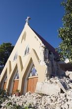 St. Therese Church, January 2010 Earthquake Damage, Port Au Prince, Haiti