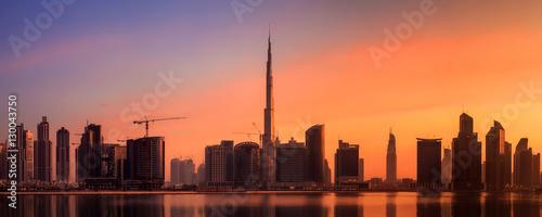 Keuken foto achterwand Stad gebouw Business bay of Dubai, UAE