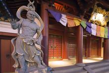 Guardian Statue, Buddha Tooth ...