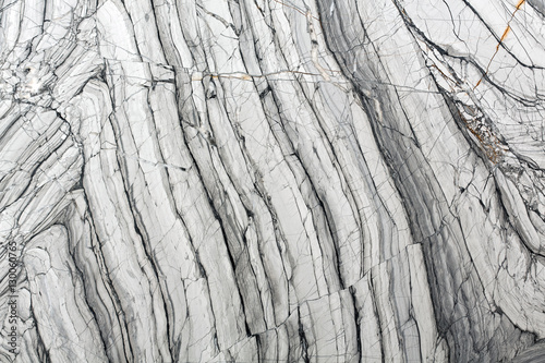 Canvas Prints Marble Detailed structure of luxury gray marble in natural patterned fo