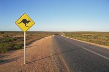 Road To Monkey Mia, Shark Bay,...